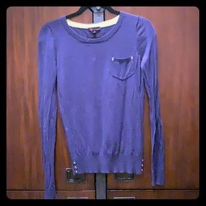 Navy blue t/o sweater
